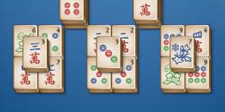 Mahjong Blue