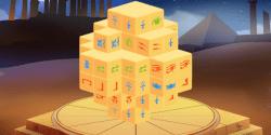 Mahjong 3D Ägypten online spielen